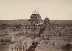 Purudkul. Temples. [Sangameshwara Temple from the south-east, Pattadakal.]